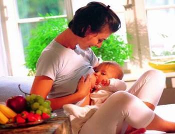 кушать кормящей маме