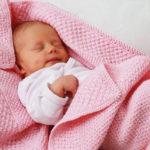 Красивый плед крючком для новорожденного ребенка от Бернат