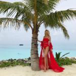 Мальдивские приключения Рудковской