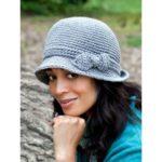 Вяжем элегантную шляпу от Caron