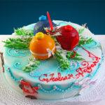 Торт Новогодний.