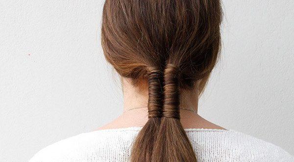 прическа бесконечность из волос