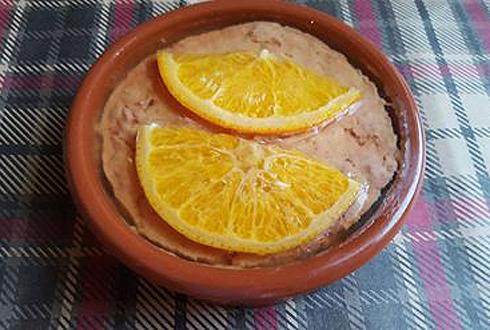 Паштет из утиной печени с апельсинами