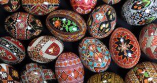 Писанки, пасхальные яйца