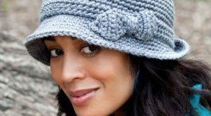 Вяжем элегантную шляпу