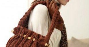 Осенняя сумка от Bernat