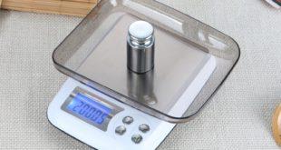Настольные электронные кухонные весы